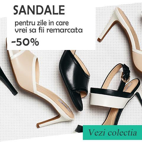 Sandale Fara Toc Elegante Si Casual La Moda