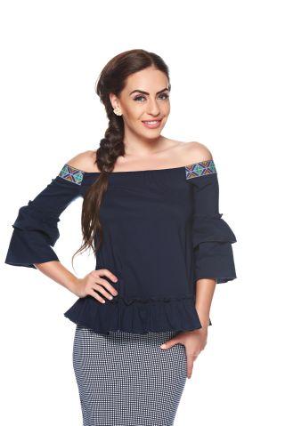 Cumpara Bluza stil ie cu motive traditionale