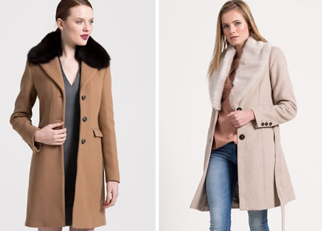 palton dama iarna cu blana