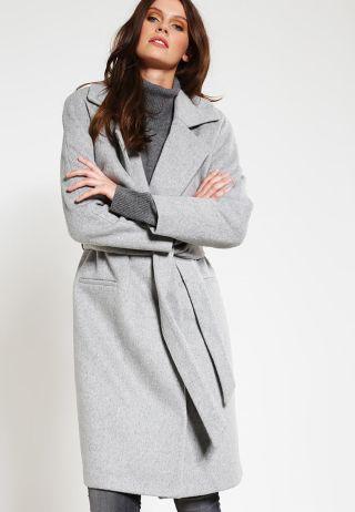palton dama lung elegant