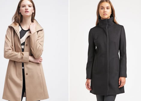 palton de toamna dama elegant