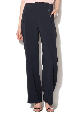Cumpara Pantaloni cu talie inalta evazati eleganti