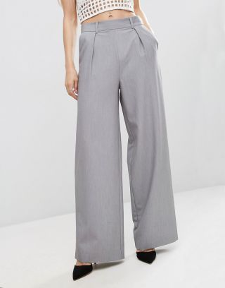 pantaloni dama eleganti evazati