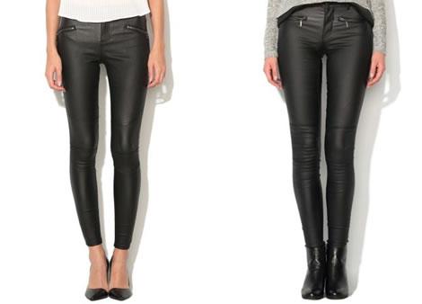 pantaloni peliculizati dama negri skinny