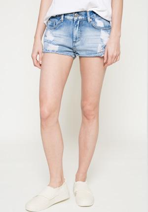 Cumpara Pantaloni scurti blugi dama ieftini