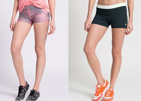 pantaloni scurti dama fitness nike pro