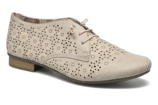 Cumpara Pantofi dama fara toc piele perforata rieker