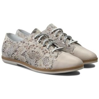 pantofi dama oxford animal print