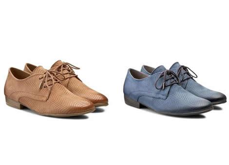 pantofi dama oxford fara toc