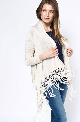 pulover dama cu franjuri