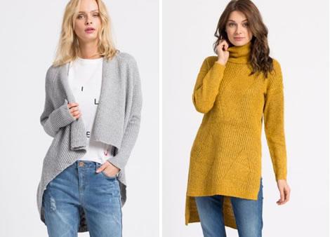 pulover scurt in fata lung in spate