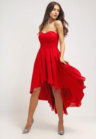 rochie cocktail lunga la spate