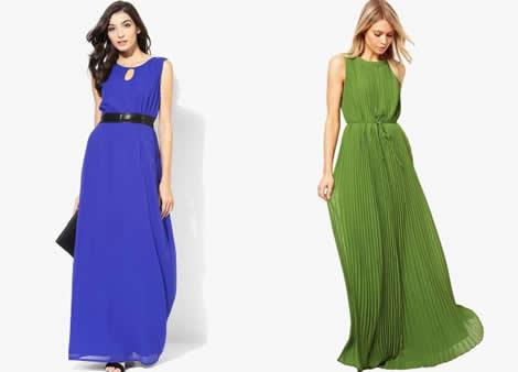 rochie vara lunga din voal