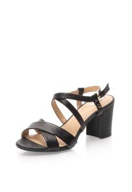 sandale piele dama geox cu toc