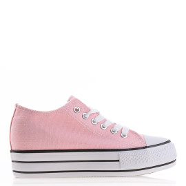 tenisi dama tip converse ieftini roz