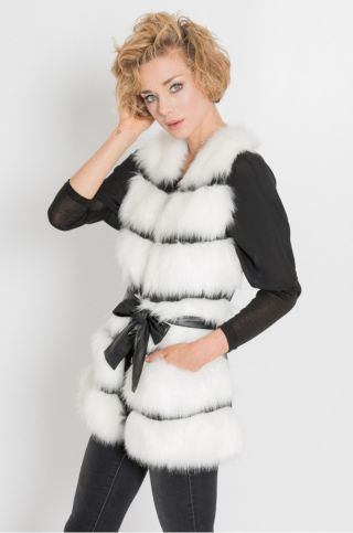 Cumpara Vesta imitatie blana dama eleganta